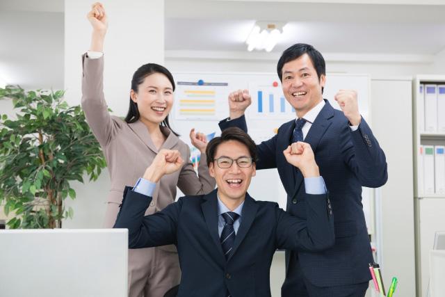 成功した企業のイメージ画像